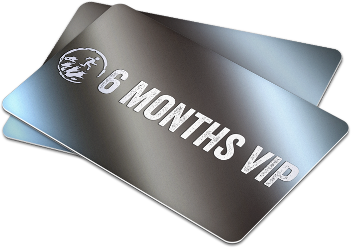 Illustration of 6 Months VIP twin pack card